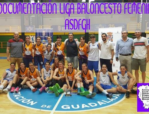 Plazos y Documentación Liga Femenina de Baloncesto ASDFGH