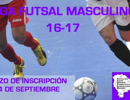 Plazos y Documentación I liga Fútbol Sala Masculino ASDFGH